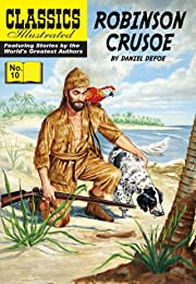 Classics Illustrated #10: Robinson Crusoe