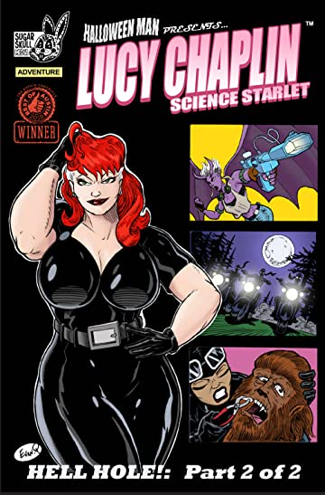 "Lucy Chaplin: Science Starlet ""Hell Hole"" #2"