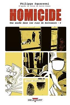 Homicide, une année dans les rues de Baltimore Tome 4: 2 avril - 22 juillet 1988