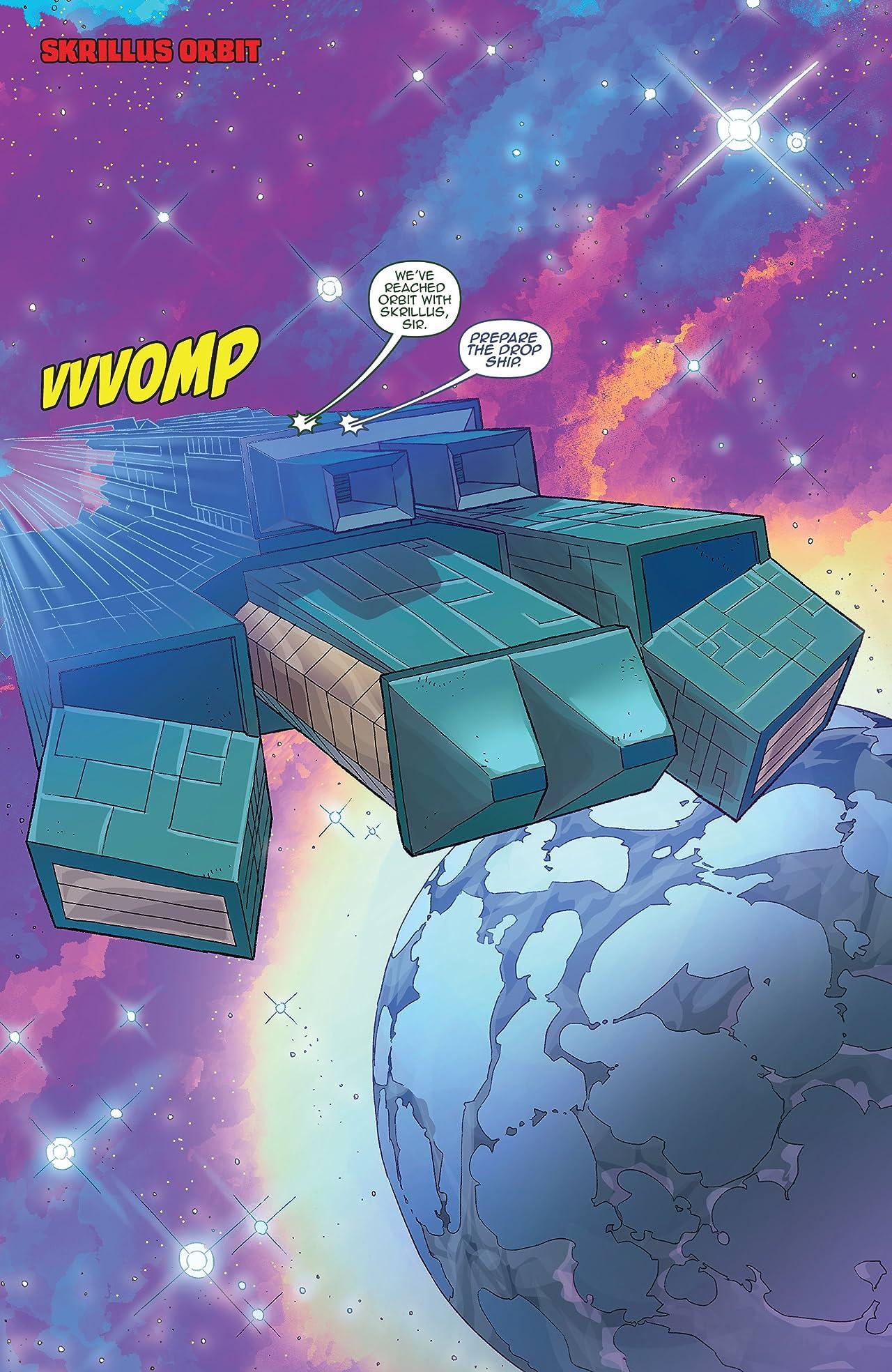 Amalgama: Space Zombie #3