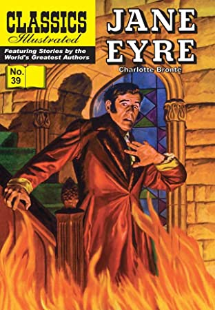 Classics Illustrated #39: Jane Eyre