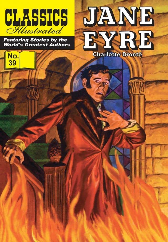 Classics Illustrated #39: Jane Eyre