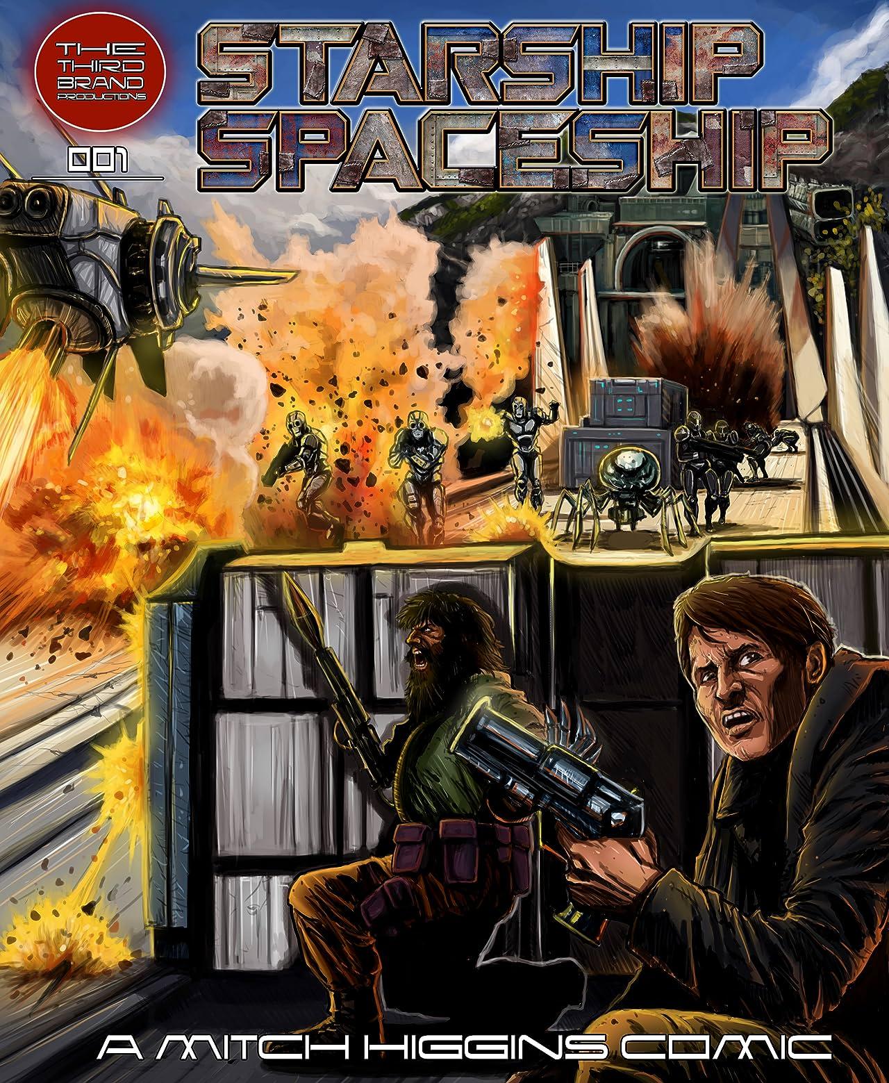 Starship Spaceship #001