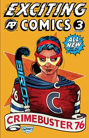 Exciting Comics #3