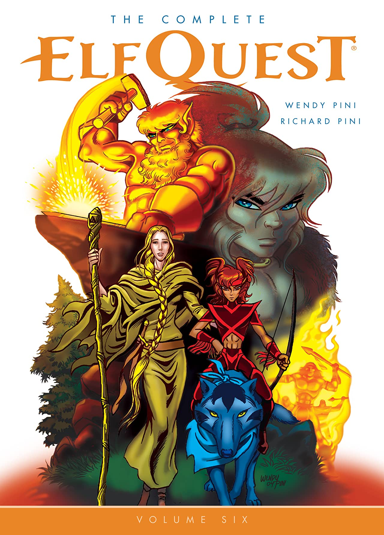 The Complete ElfQuest Tome 6