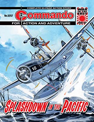Commando #5257: Splashdown In The Pacific