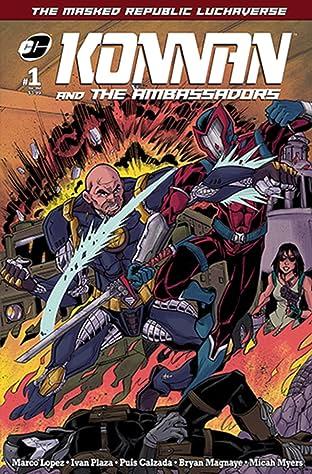 Masked Republic Luchaverse: Konnan and The Ambassadors No.1