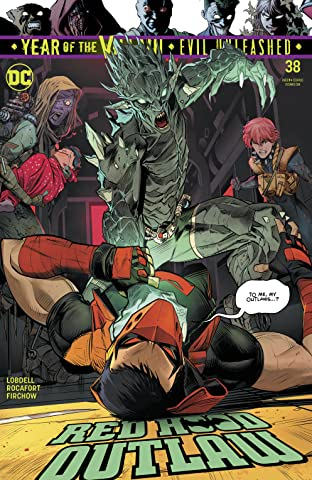 Red Hood and the Outlaws (2016-) #38
