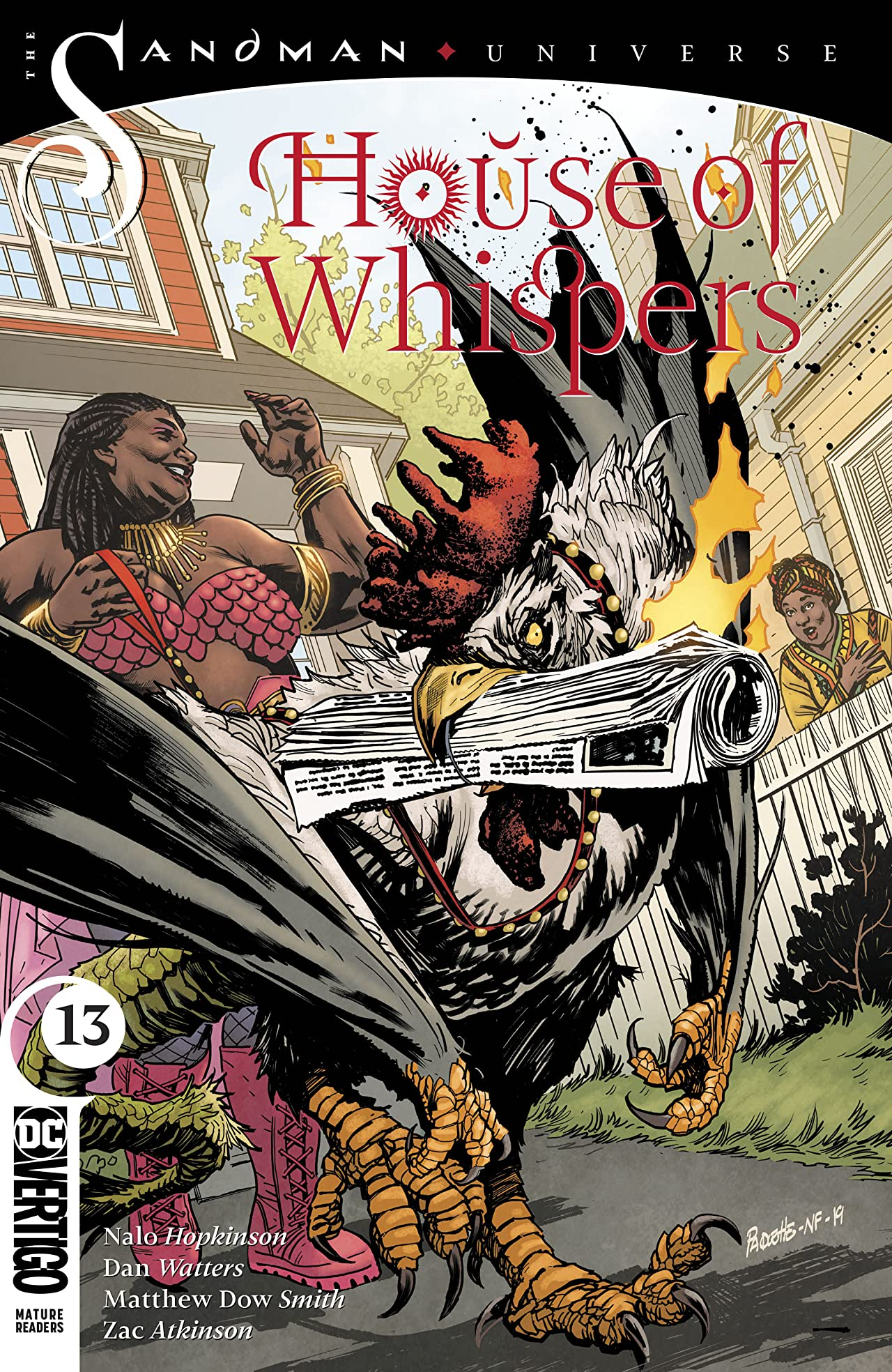 House of Whispers (2018-) #13