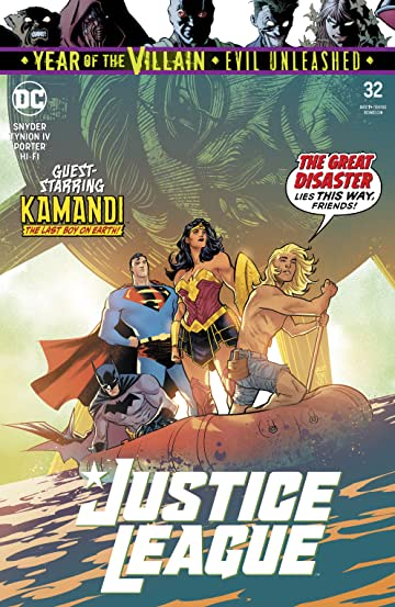 Justice League (2018-) #32