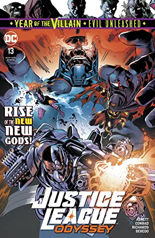 Justice League Odyssey (2018-) No.13