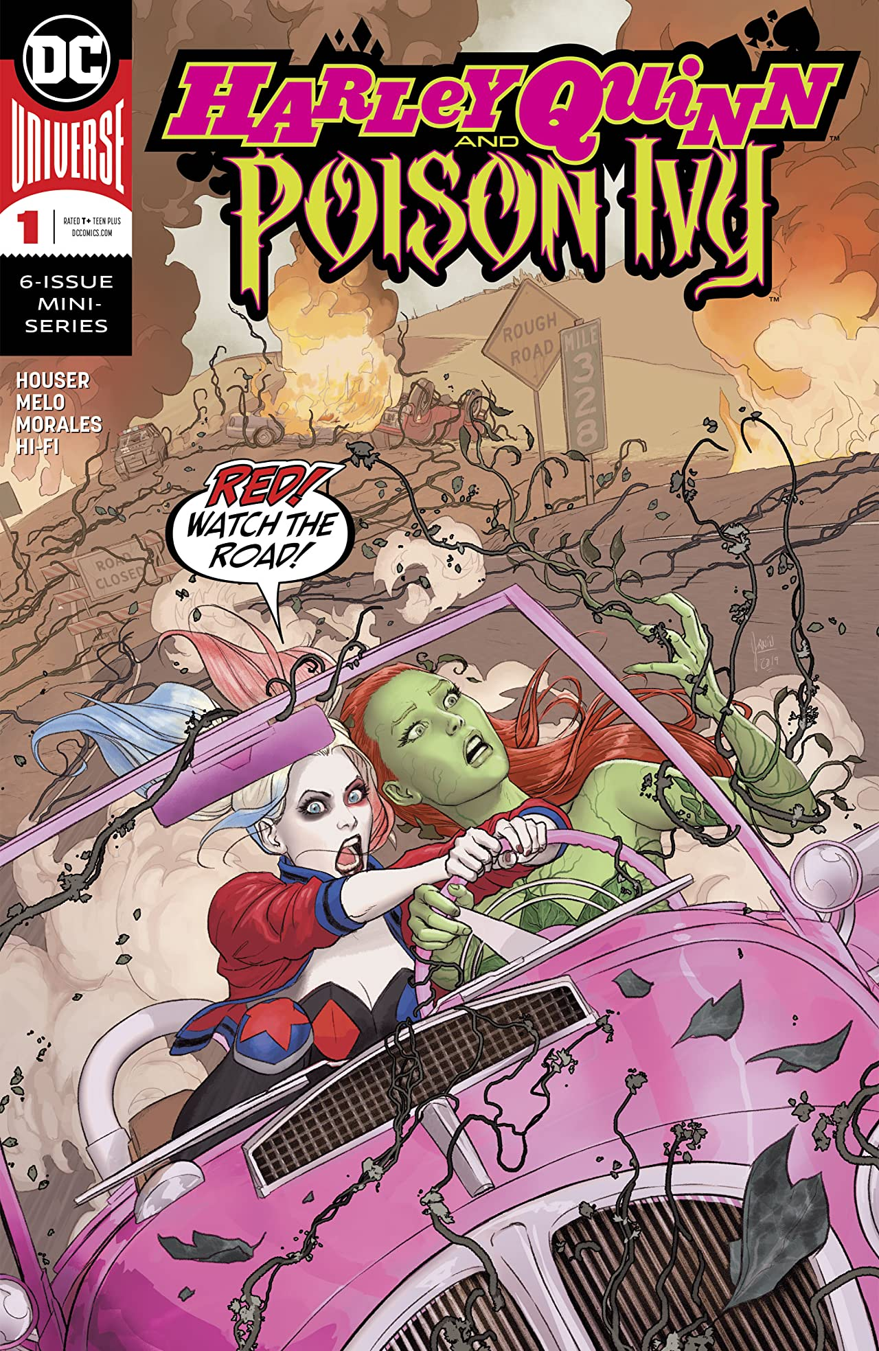 Harley Quinn & Poison Ivy (2019-) No.1
