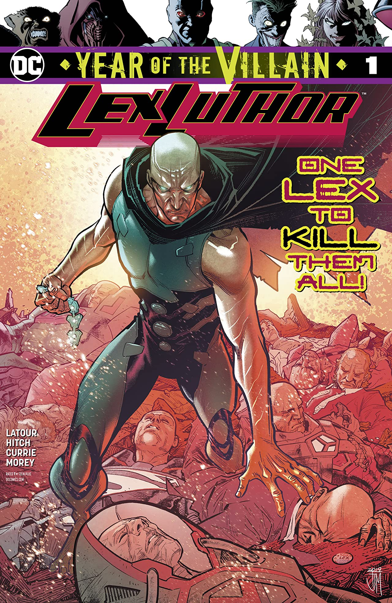 Lex Luthor: Year of the Villain (2019-) No.1