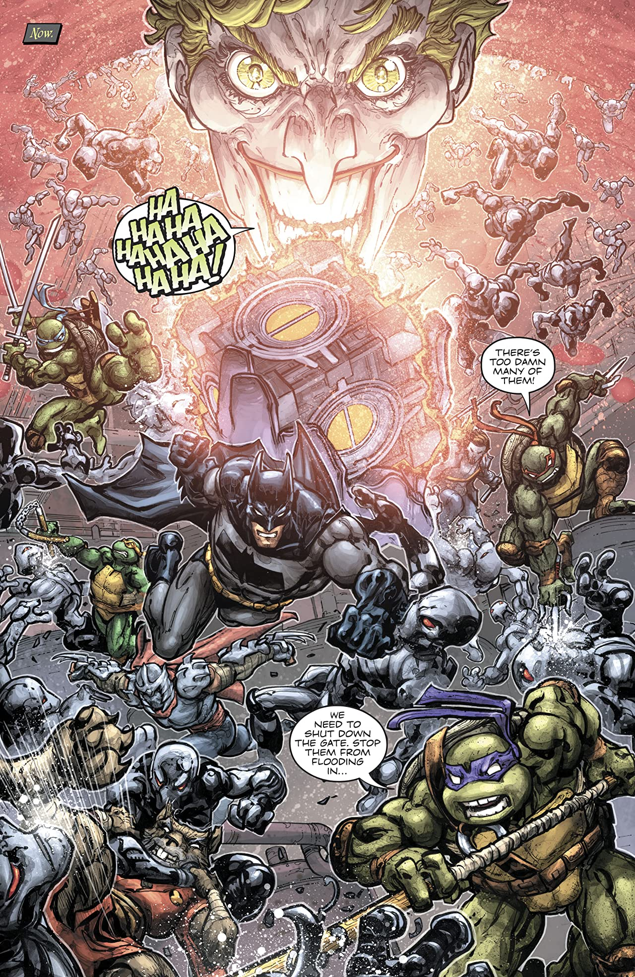 Batman/Teenage Mutant Ninja Turtles III (2019-) #5