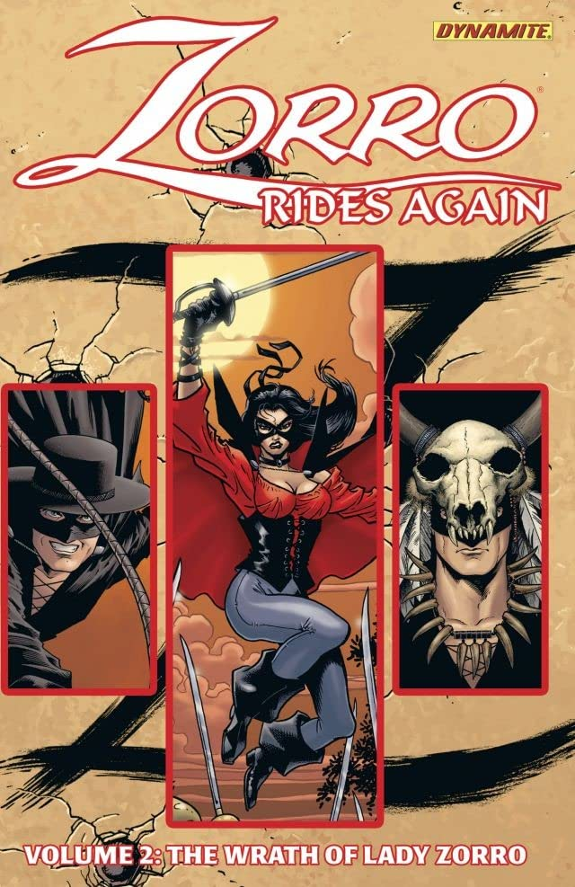 Zorro Rides Again Vol. 2: Wrath of Lady Zorro