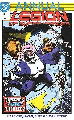 Legion of Super-Heroes (1984-1989) Annual #2