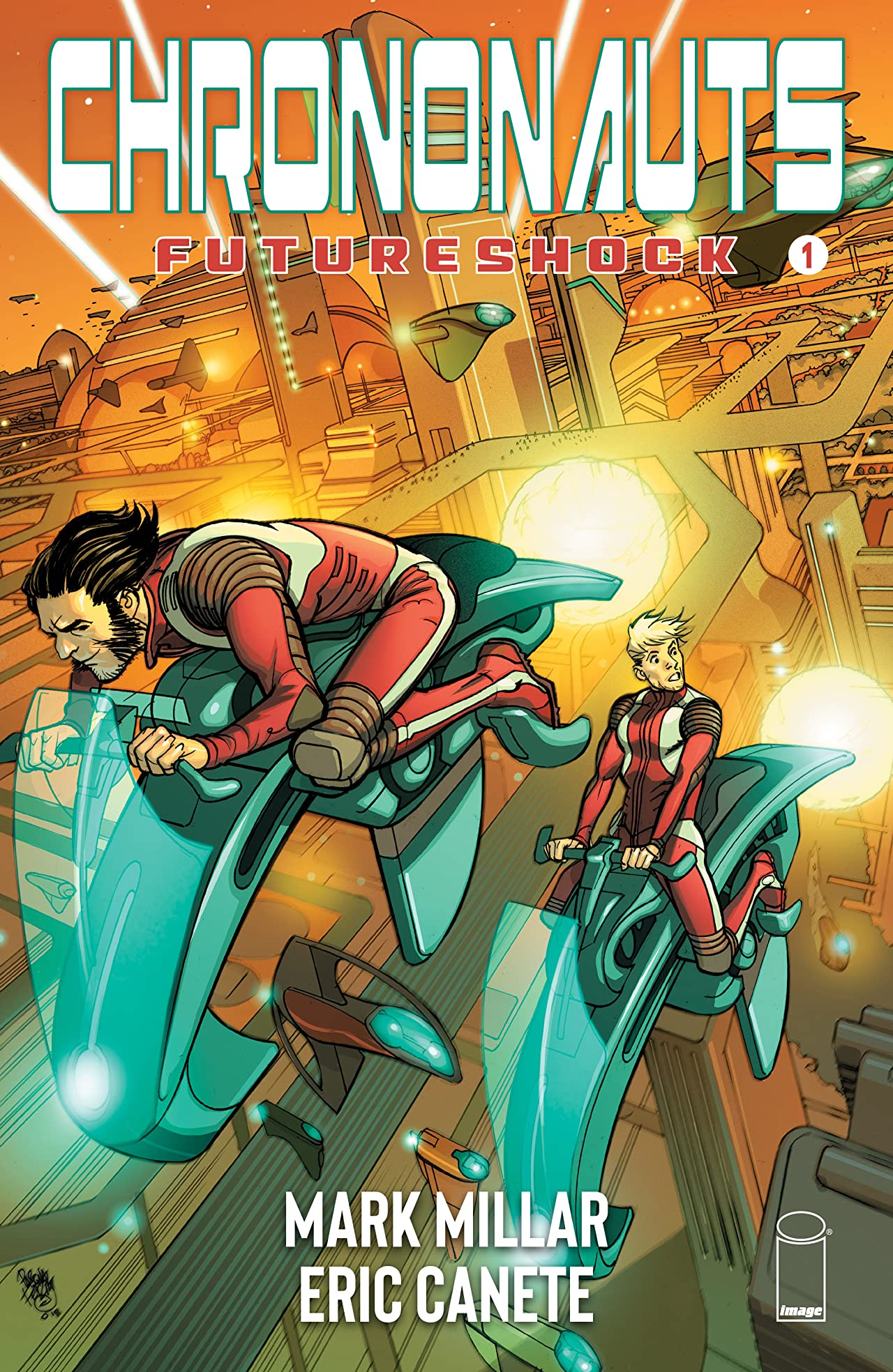 Chrononauts: Futureshock No.1