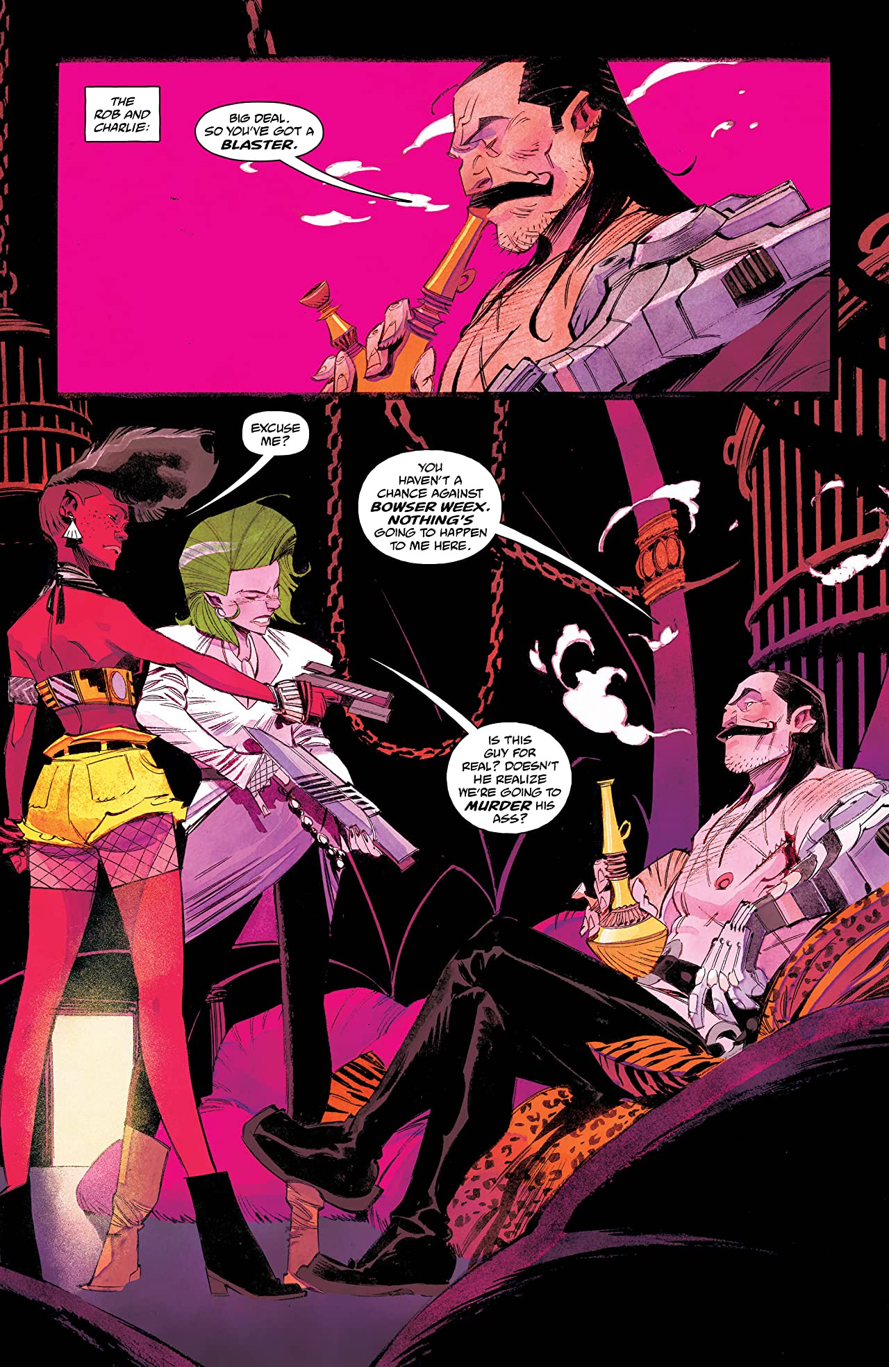 Space Bandits #4