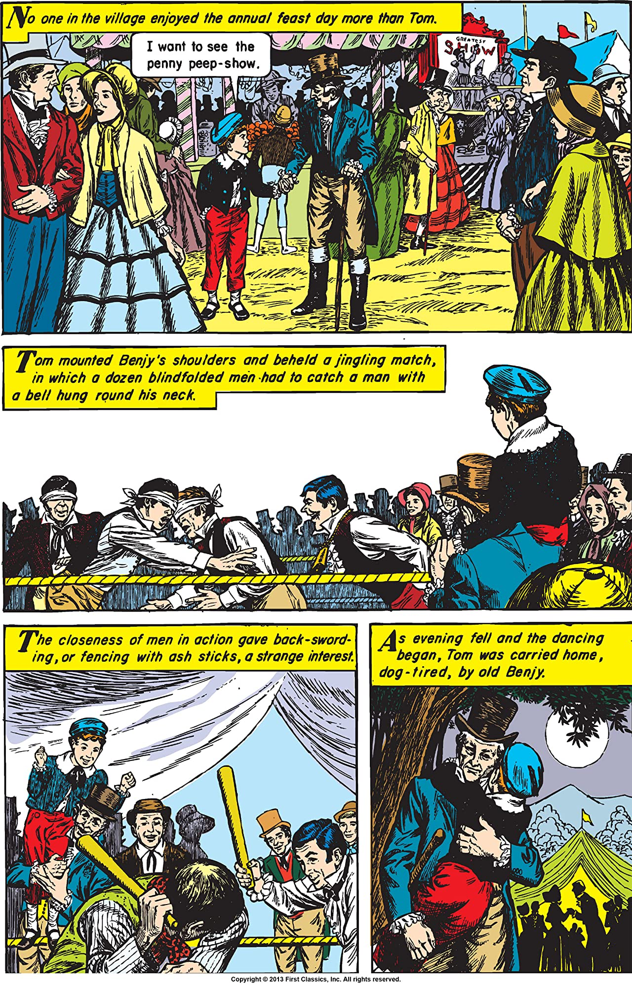 Classics Illustrated #45: Tom Brown's School Days