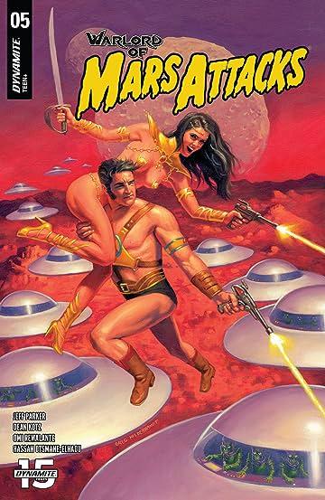 Warlord of Mars Attacks #5