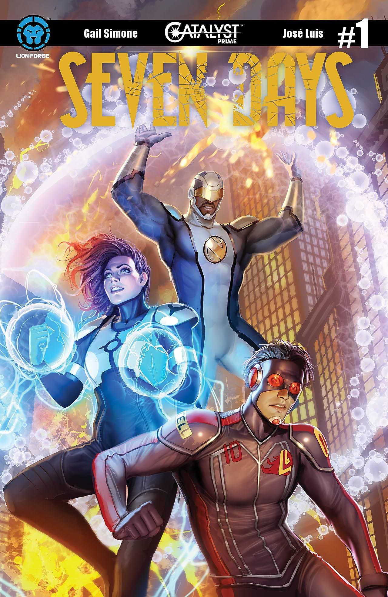 Catalyst Prime: Seven Days #1