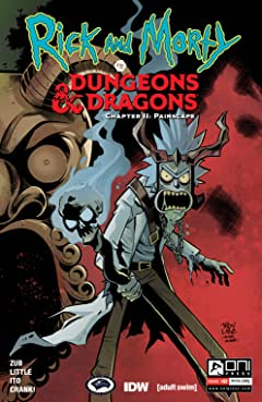 Rick and Morty vs. Dungeons & Dragons II #2
