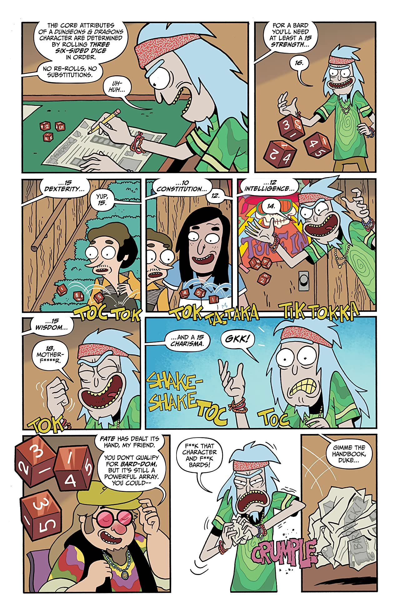Rick and Morty vs. Dungeons & Dragons II #2: Painscape