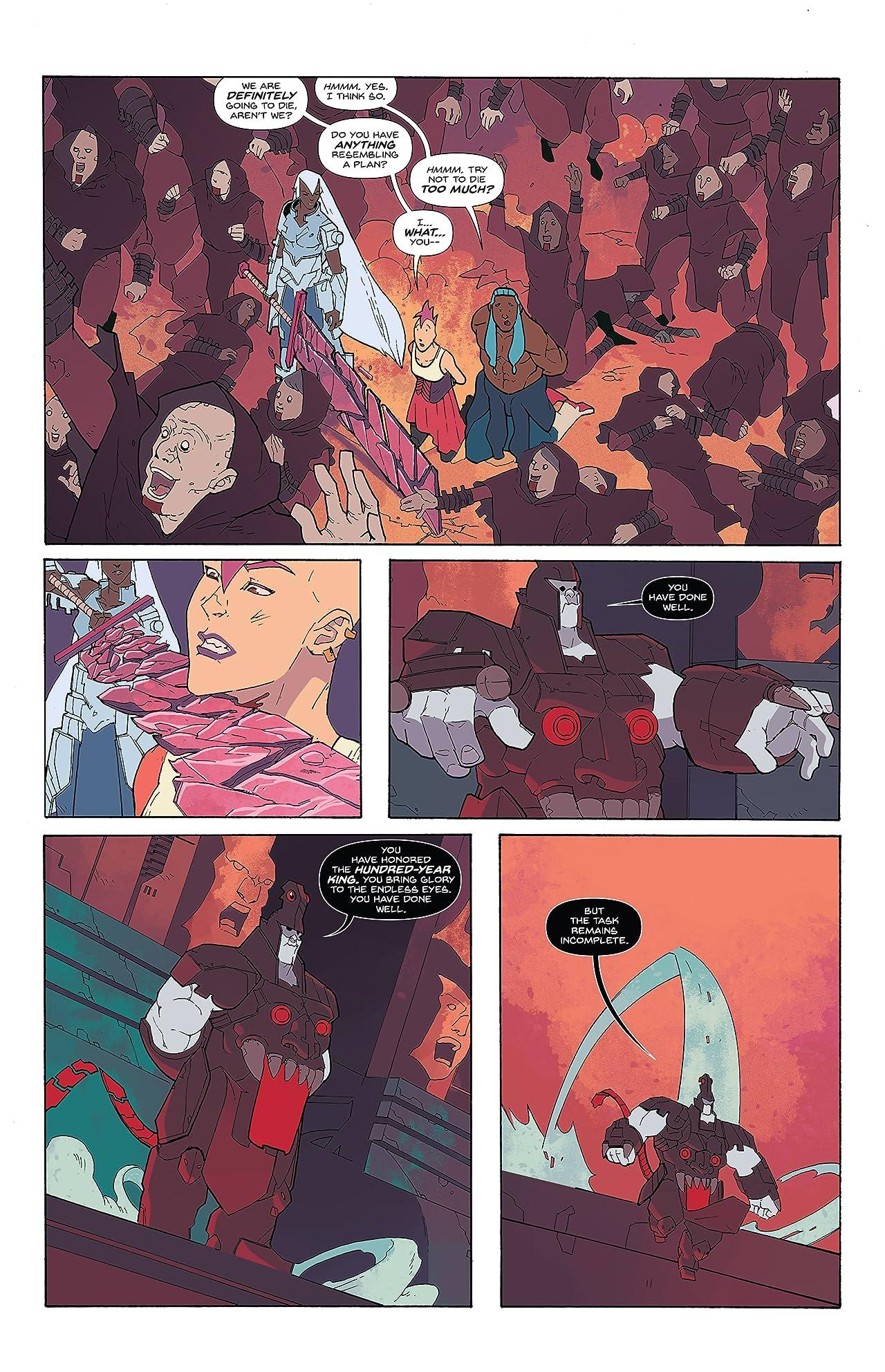 Breaklands (comiXology Originals) #1 (of 5)