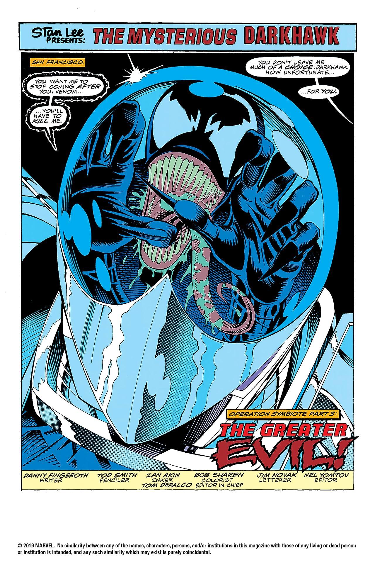 Darkhawk (1991-1995) #37