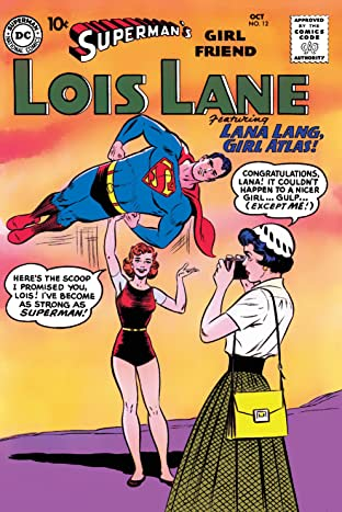 Superman's Girl Friend Lois Lane (1958-1974) No.12