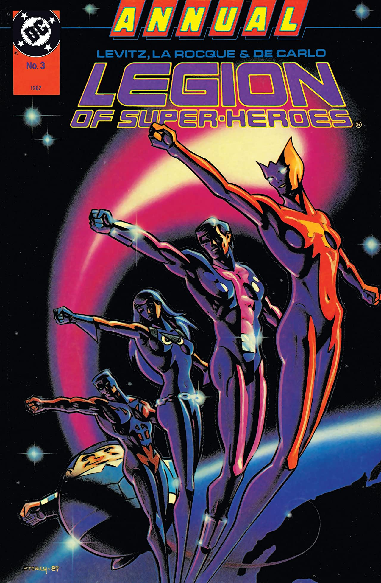 Legion of Super-Heroes (1984-1989) Annual #3