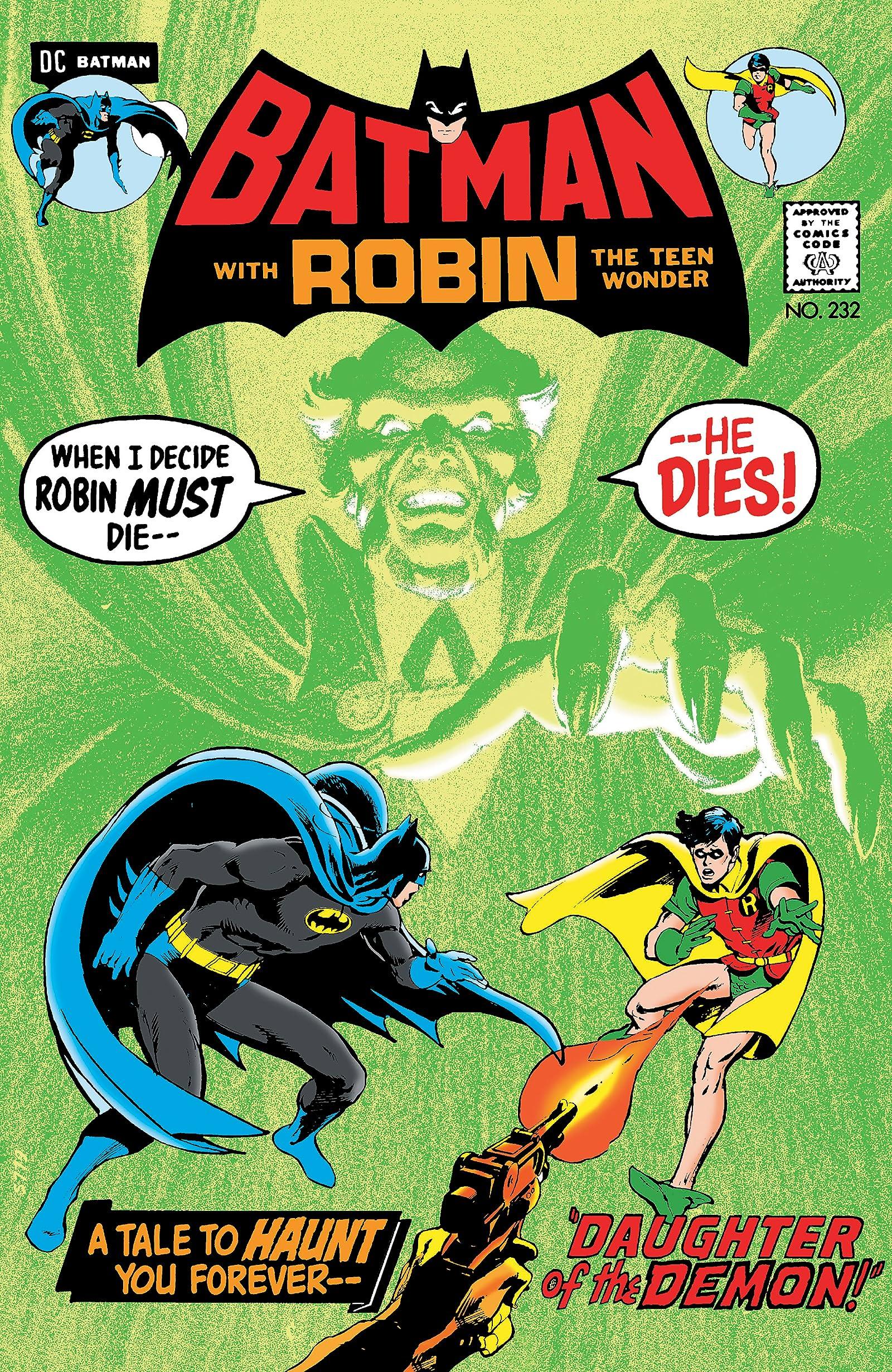 Batman (1940-2011) #232: Facsimile Edition (2019) - Comics by ...
