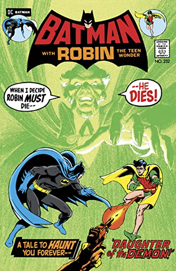Batman (1940-2011) #232: Facsimile Edition (2019)
