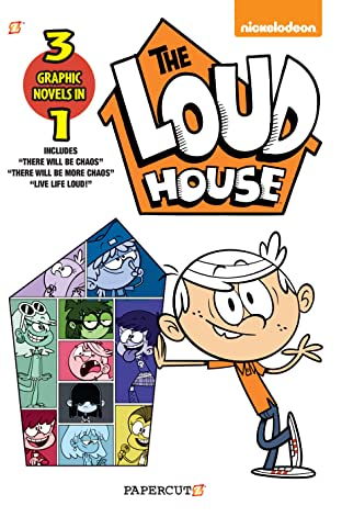 The Loud House 3 in 1 Tome 1