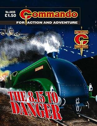 Commando #4435: The 8.15 To Danger