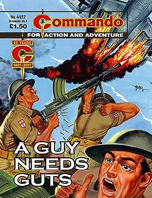 Commando #4437: A Guy Needs Guts