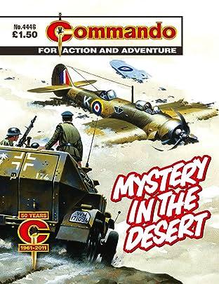 Commando #4446: Mystery In The Desert