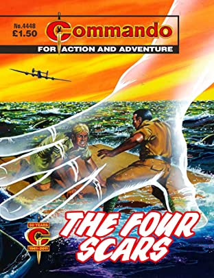 Commando #4448: The Four Scars