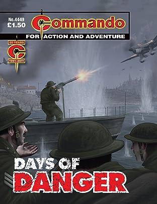 Commando #4449: Days Of Danger