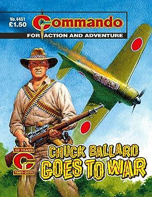 Commando #4451: Chuck Ballard Goes To War
