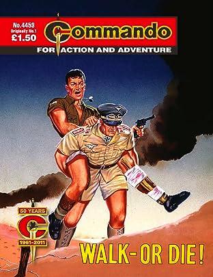 Commando #4453: Walk - Or Die!