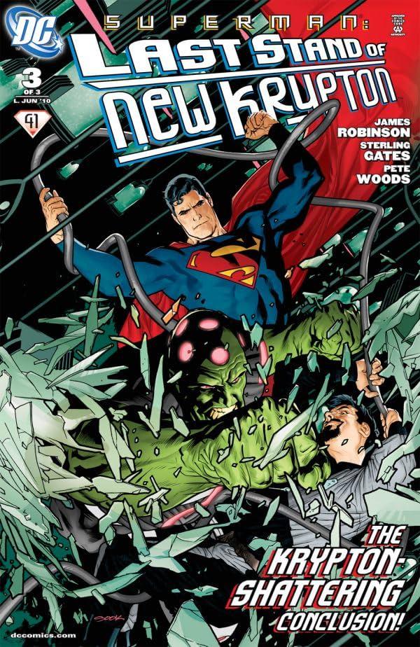Superman: Last Stand of New Krypton #3 (of 3)