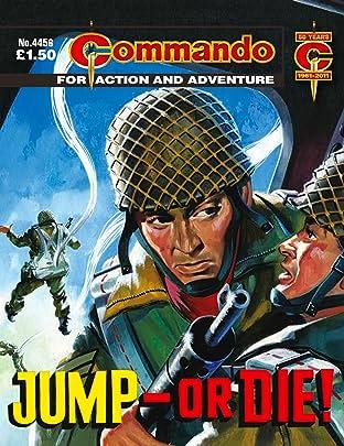 Commando #4456: Jump - Or Die!