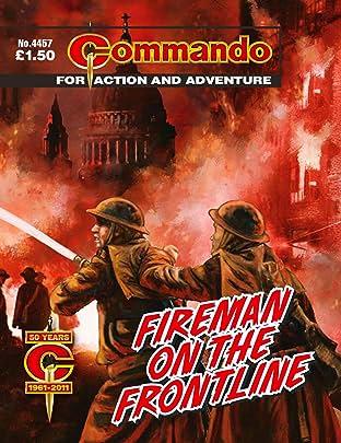 Commando #4457: Fireman On The Frontline
