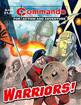 Commando #4460: Warriors!