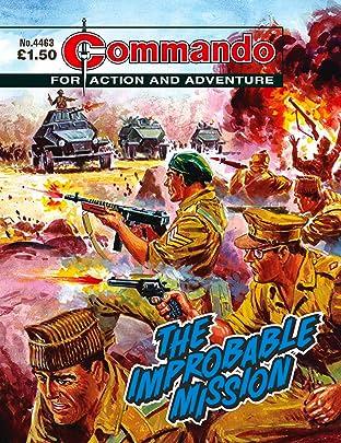 Commando #4463: The Improbable Mission