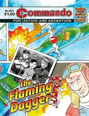 Commando #4471: The Flaming Dagger