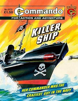 Commando #4473: Killer Ship