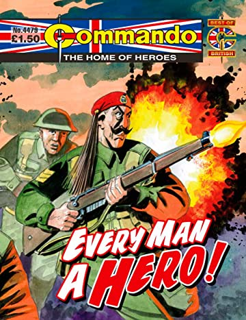 Commando #4479: Every Man A Hero