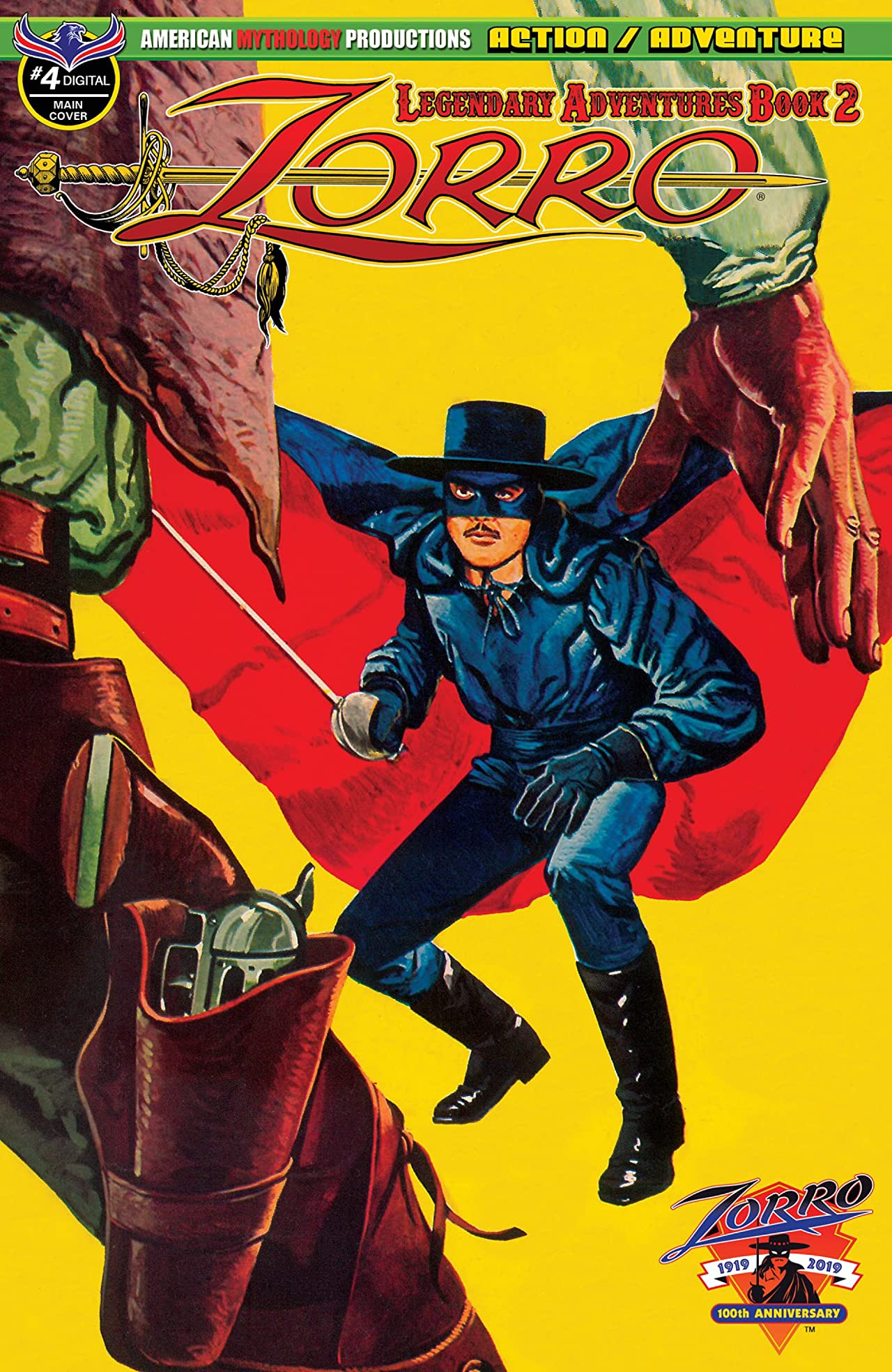 Zorro: Legendary Adventures Book 2 #4